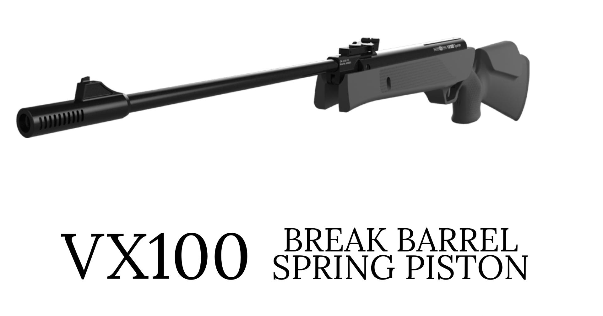 Precihole VX 100 Spartan  177 Air Rifle | Spring Piston Break Barrel