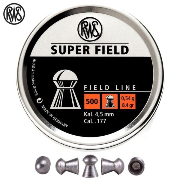RWS Super field .177 pellets India | Airgunbazaar.in