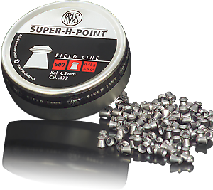 RWS SUPER H POINT .177 Pellets India | Airgunbazaar.in