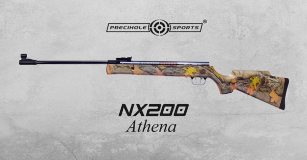 Precihole-nx200-athena-air-rifle-camo-airgunbazaar.in