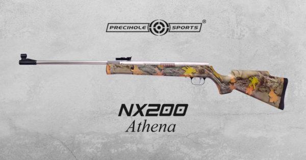 Precihole-nx200-athena-air-rifle-rust-free-camo-airgunbazaar.in