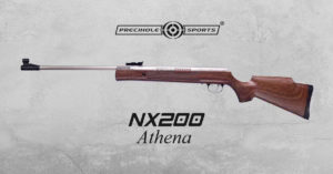 Precihole-nx200-athena-walnut-wood-rust-free-air-rifle-airgunbazaar.in