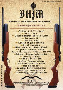Gare_Bhim_PCP air rifle_.177_airgunbazaar.in