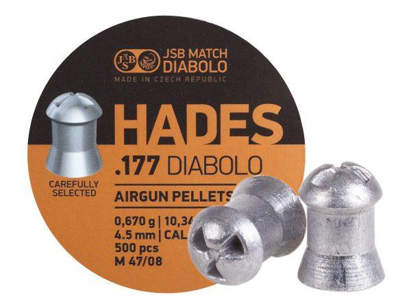 Jsb_heads_diabolo_10.34grain_india_airgunbazaar.in_.177_air_rifle_pellets